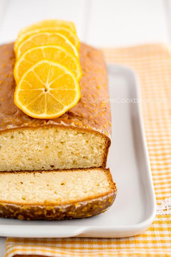 Meyer Lemon Pound Cake | Easy Japanese Recipes at JustOneCookbook.com
