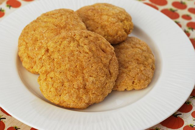 Pumpkin Snickerdoodles | Food - Desserts | Pinterest