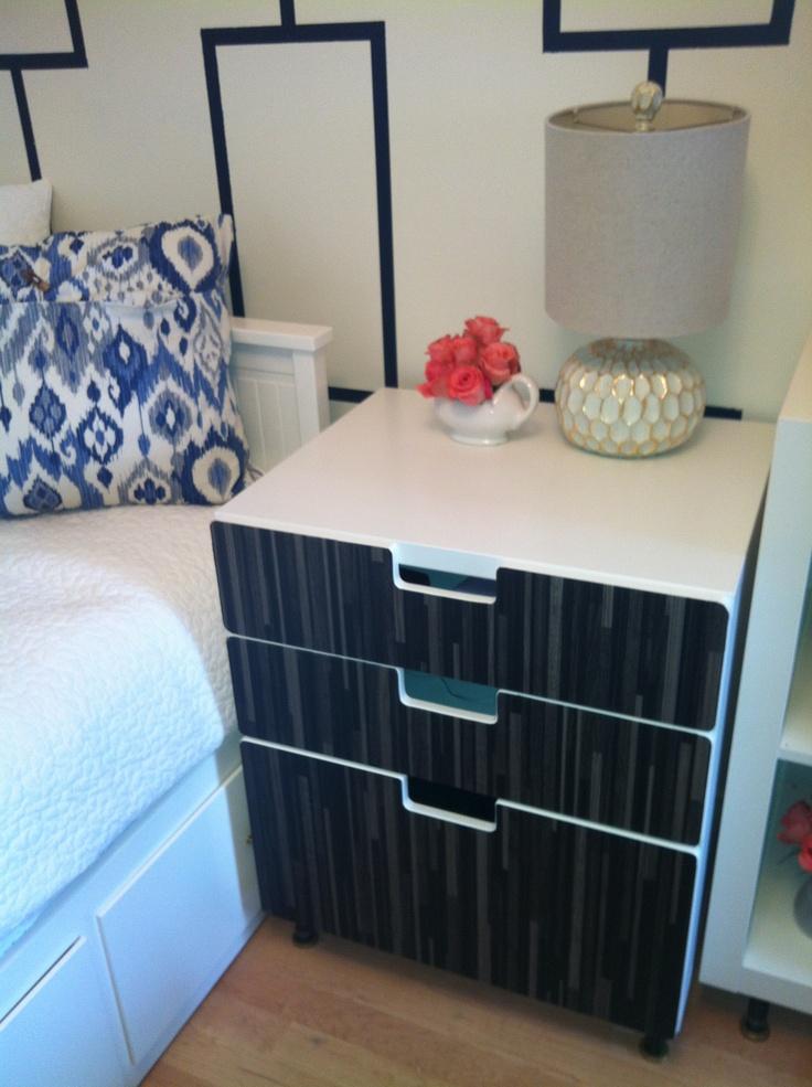 ikea stuva as nightstand kids rooms pinterest. Black Bedroom Furniture Sets. Home Design Ideas