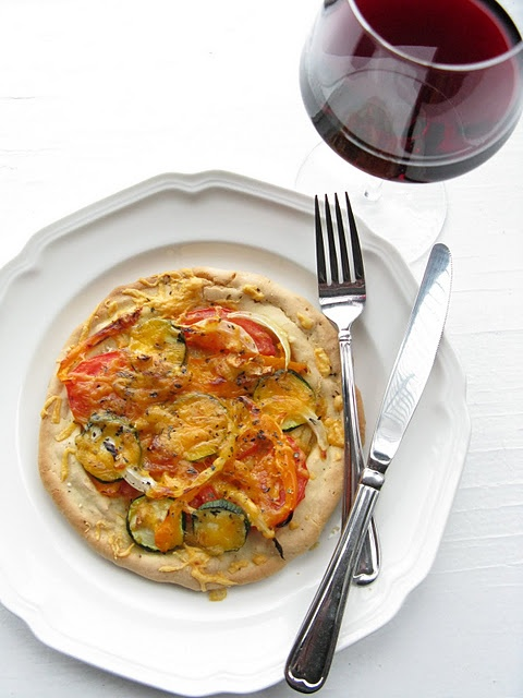 gluten free pizza crust ~ tapioca & rice flours