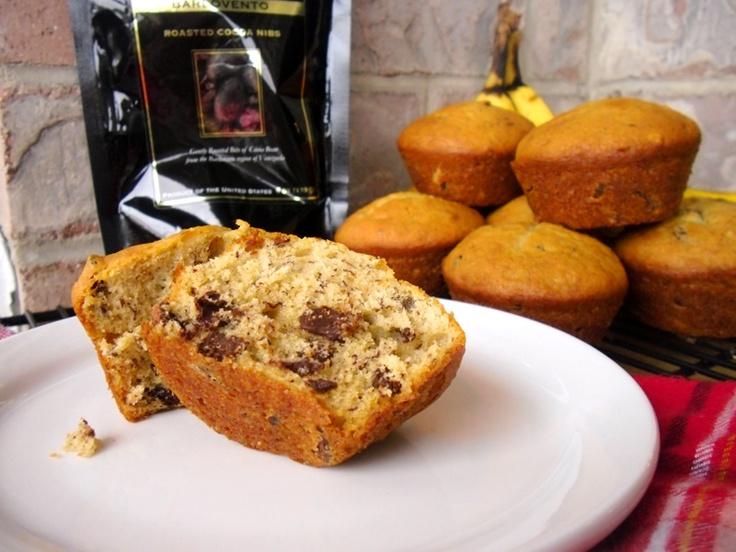cocoa nib sour cream banana bread - this recipe keeps the bread so ...
