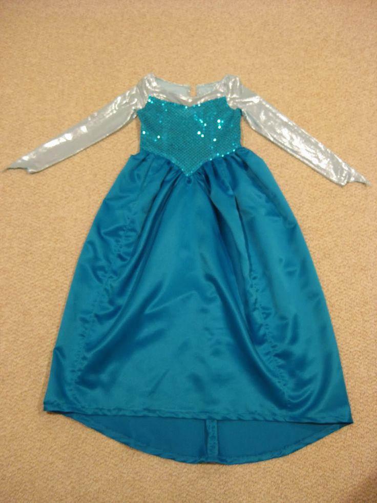 Frozen Elsa Dress Pattern Disney's frozen- elsa costume