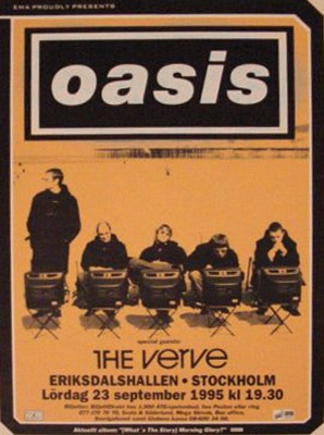 #Oasis #1995 | MuSiC♥ | Pinterest Oasis Band 1995
