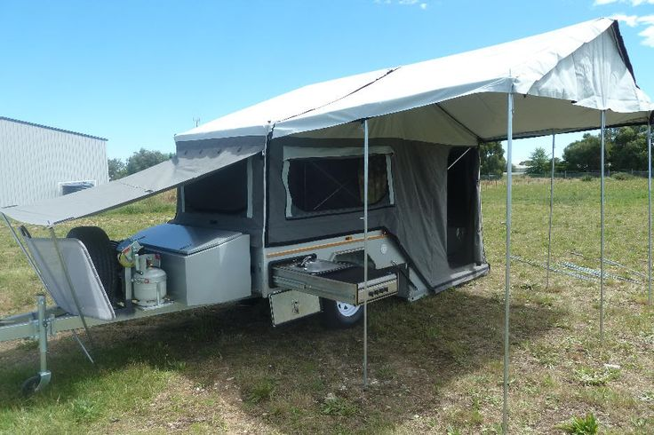Cool Offering 48 Meters Of Usable Cabin And Tent Space, The Tvan MK5 Camper
