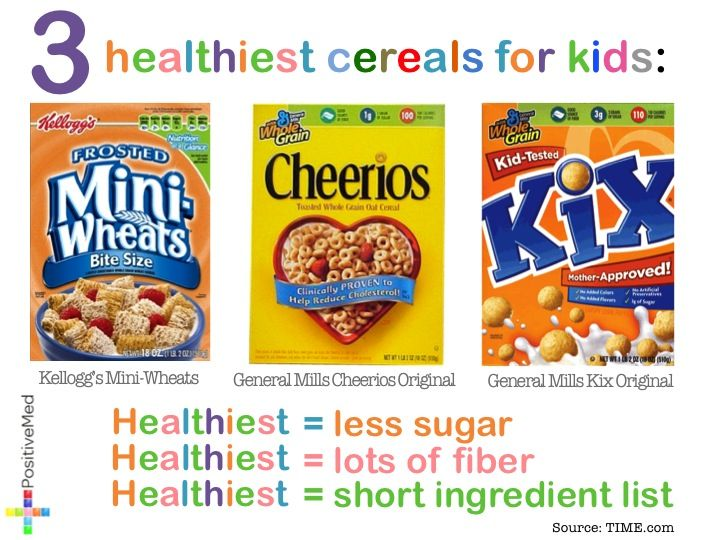 3 healthiest cereals for kids kids food pinterest