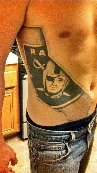 Raider tattoo | RRRAAAIIIDDDEEERRRSSS!!!!! | Pinterest