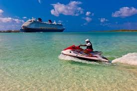 ... skiing on Castaway Cay was really fun! Hopefully we can do it again
