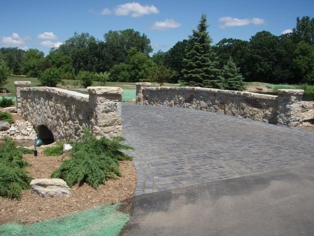 Driveway bridge idea landscaping pinterest