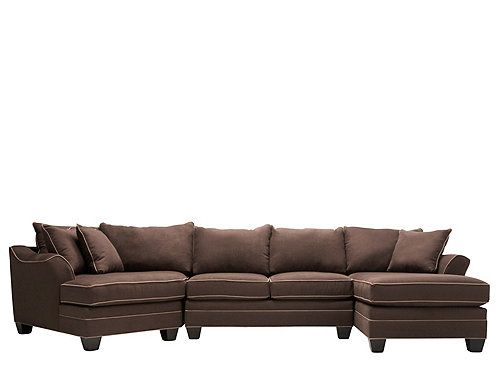 Love brown and earth tones feels like home pinterest for Sectional sofa with cuddler and chaise