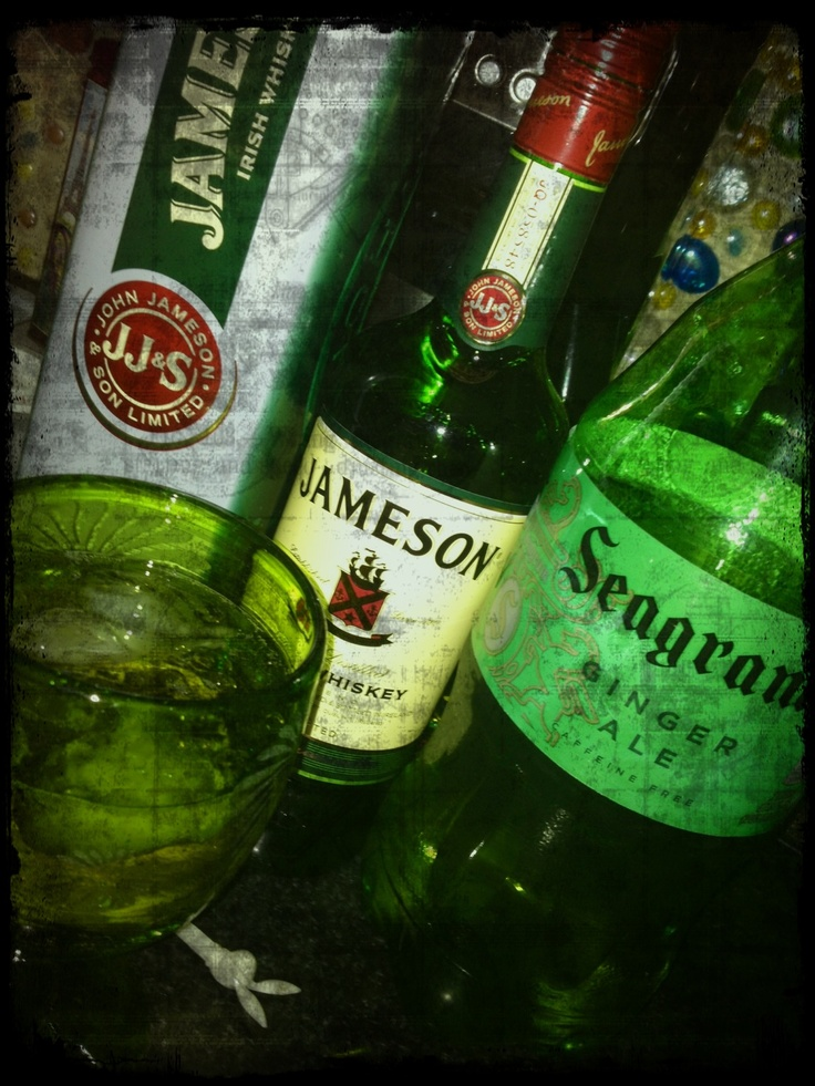 My new fav drink.... Jameson and Ginger | Drink yummy | Pinterest