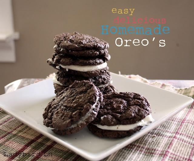 Homemade OREO cookies! | Recipes: Cookies | Pinterest