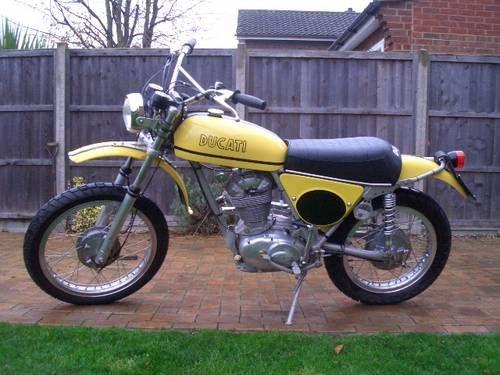 Ducati RT 450 Desmo single cylinder scrambler moto For Sale (1971)