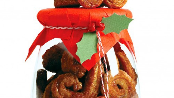 Gingersnap Palmiers Recipe. Love this recipe