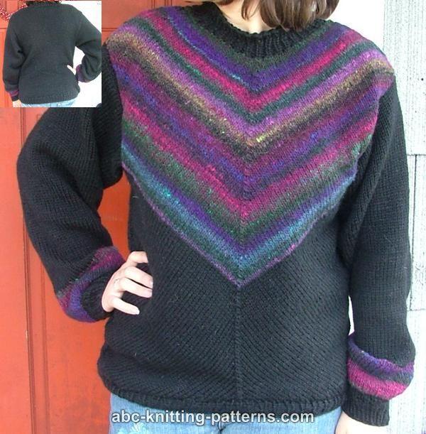Knitting Pattern For Noro Wool : Diagonal Knit Noro Yarn Sweater Knitting/Crochet - Jackets/Cardigan?
