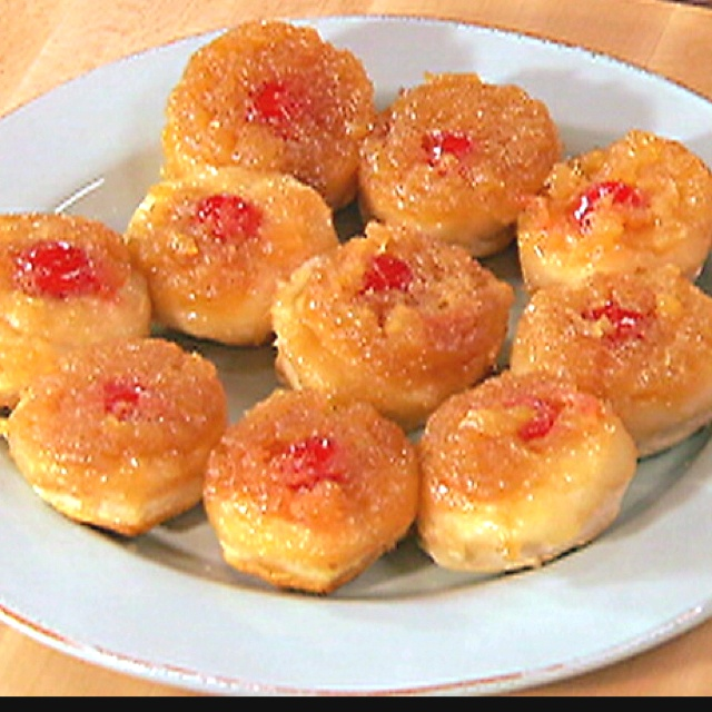 Pineapple Upside Down Biscuits. I love you Paula Deen