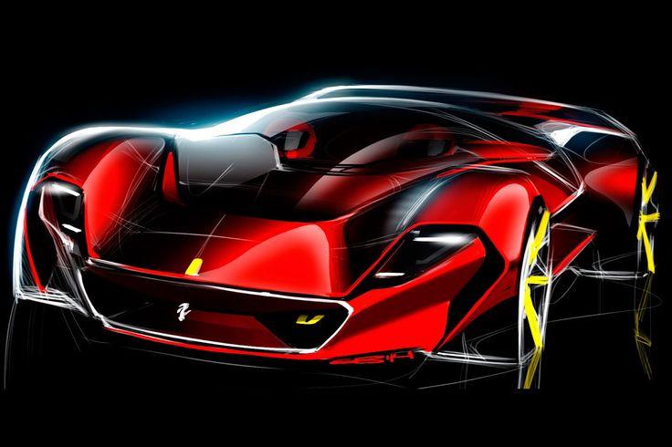 Ferrari Concept Diseño Bosquejo de Bares Grigory photos