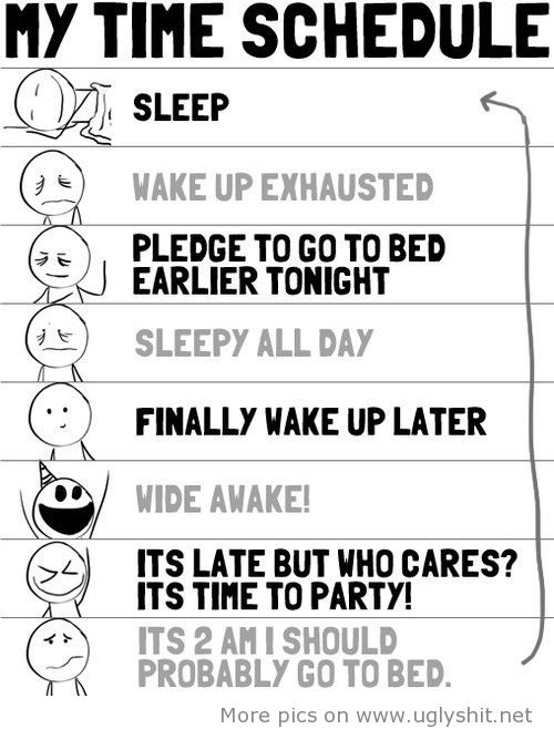 awesome My time schedule