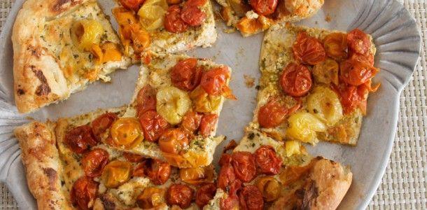 Herbed Tomato Ricotta Tart