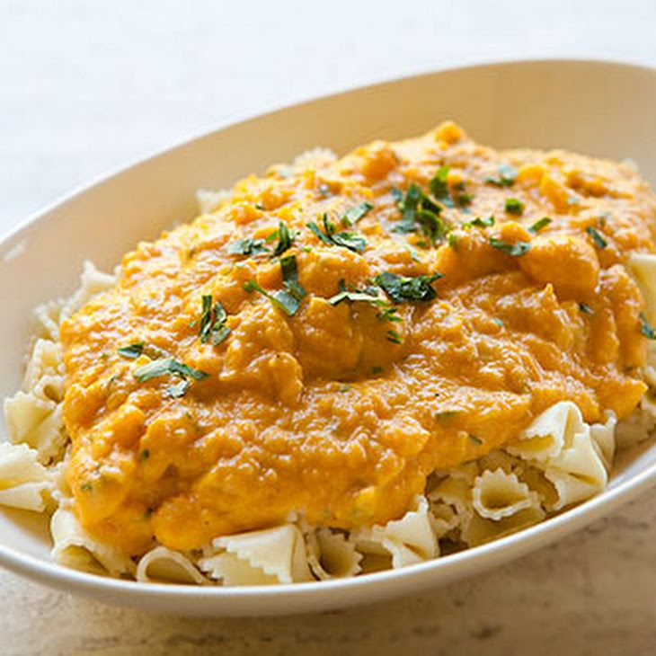 Pasta with Butternut Parmesan Sauce   Delicious Food   Pinterest