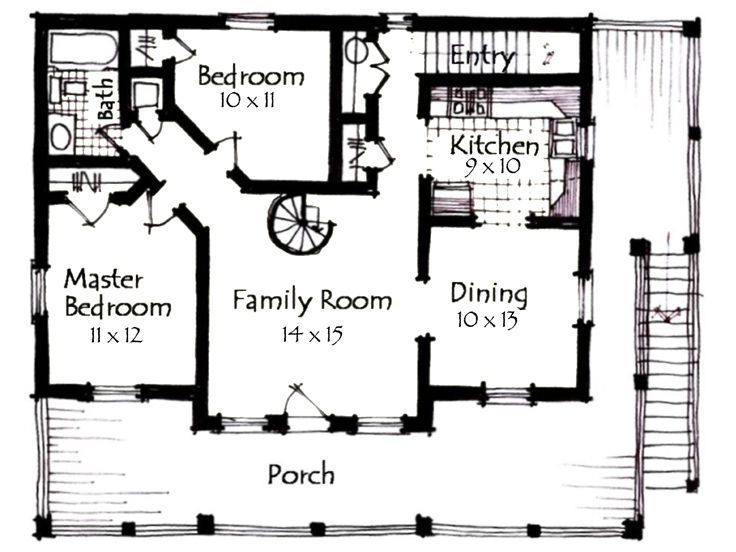 Carriage House Plan Small Homes Pinterest