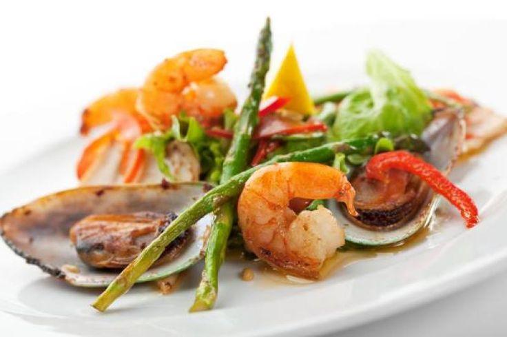 Lemon Garlic Shrimp & Asparagus Recipe from Chef Brody's Favorite ...