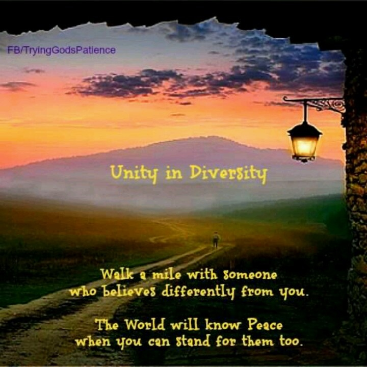 unity in diversity inspiration wisdom quotes