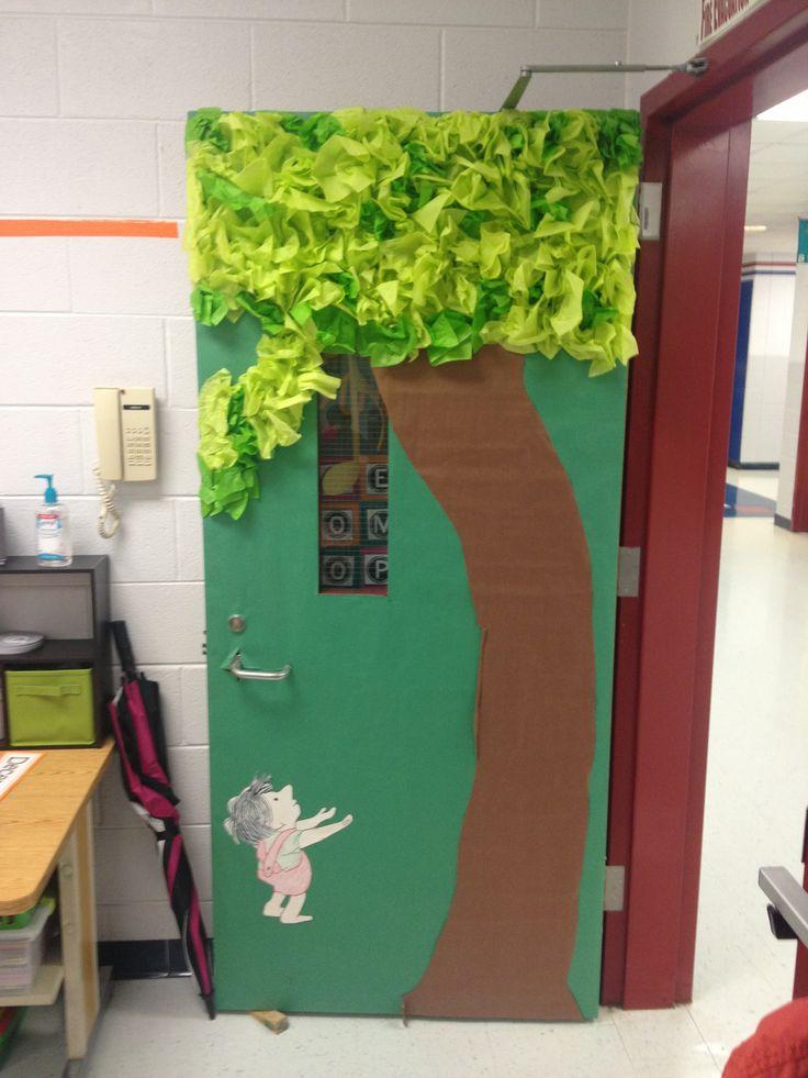 Classroom Giving Tree Ideas ~ Giving tree bulletin boards and classroom doors pinterest
