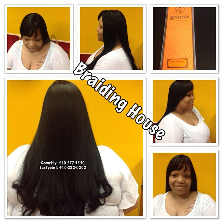 Weave By The Braiding House Braids African Hair