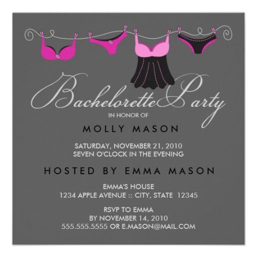 Cheap Bachelorette Party Invitations for your inspiration to make invitation template look beautiful