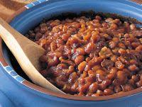 bean baked bean dish   Pantry Staples   Pinterest
