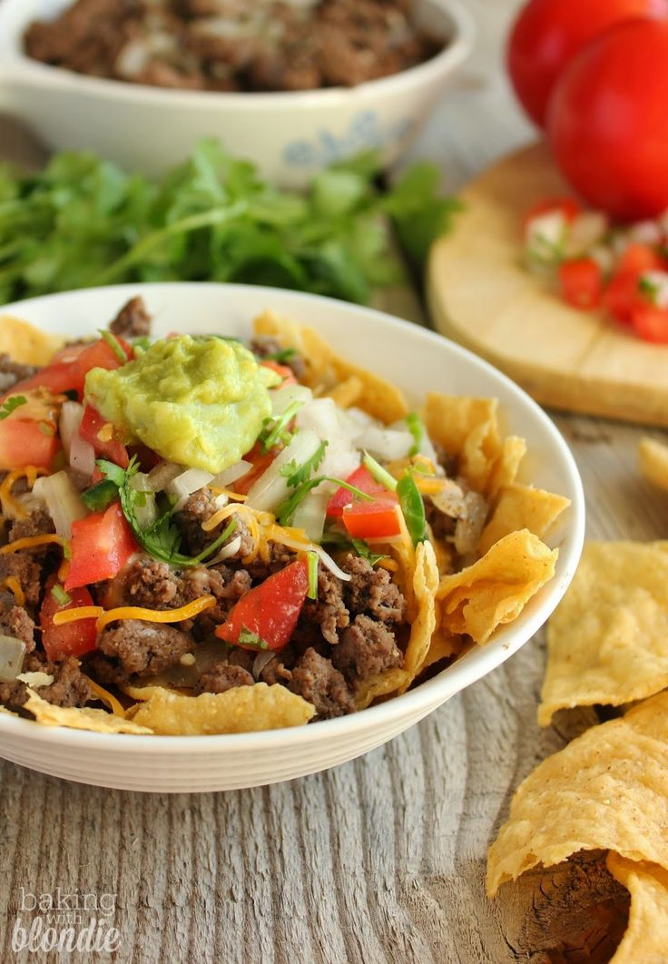 Baking with Blondie : Crunchy Taco Salad | B l o g | Pinterest
