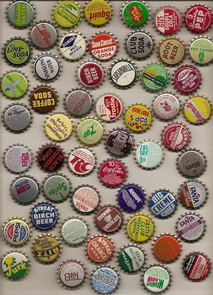 Antique bottle caps vintage antique bottles pinterest for Pictures of bottle caps