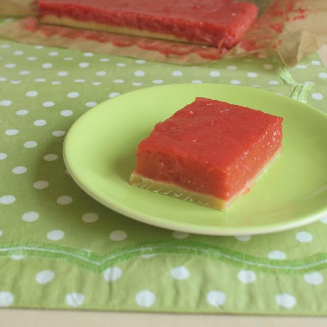Strawberry-Lemon-Bars | the 52 cakes & bakes | Pinterest