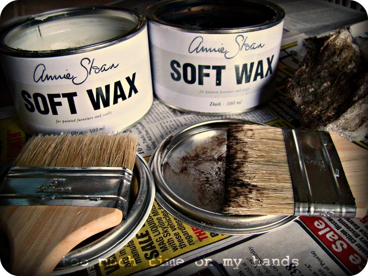 how to make soft wax for chalk paint