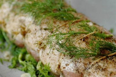 roast pork loin with fennel and rosemary | recipes // oven roasts, po ...
