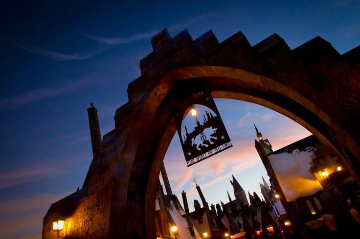 Hogsmeade arch
