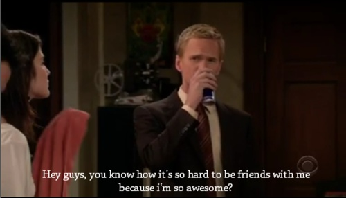 Barney Stinson Youre Awesome related Keywords and Tags