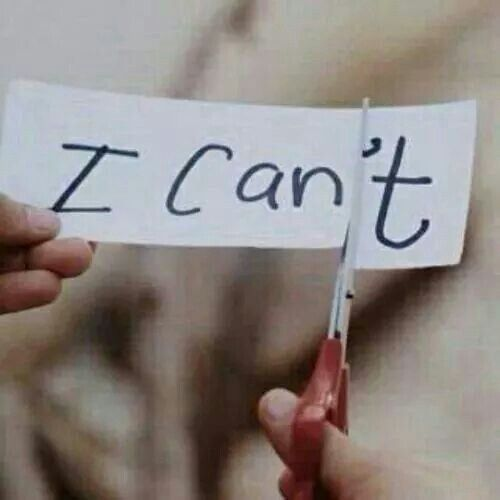 I Can....