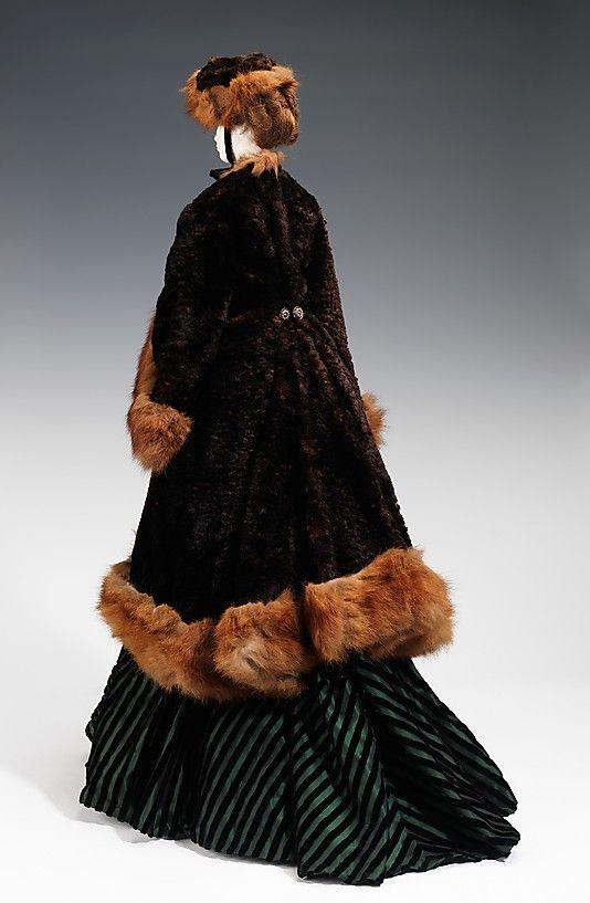 1874 Кукла по Юнгманн (металл, гипс, волосы, мех, шелк), 1949.  ММА