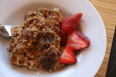Sweet Potato Oatmeal Breakfast Casserole | Breakfast | Pinterest