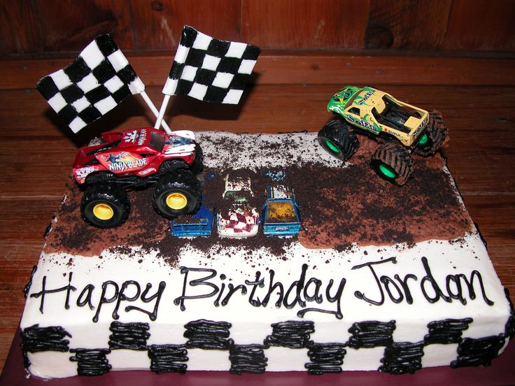 Monster Truck Cake Cake and cookie decorating Pinterest
