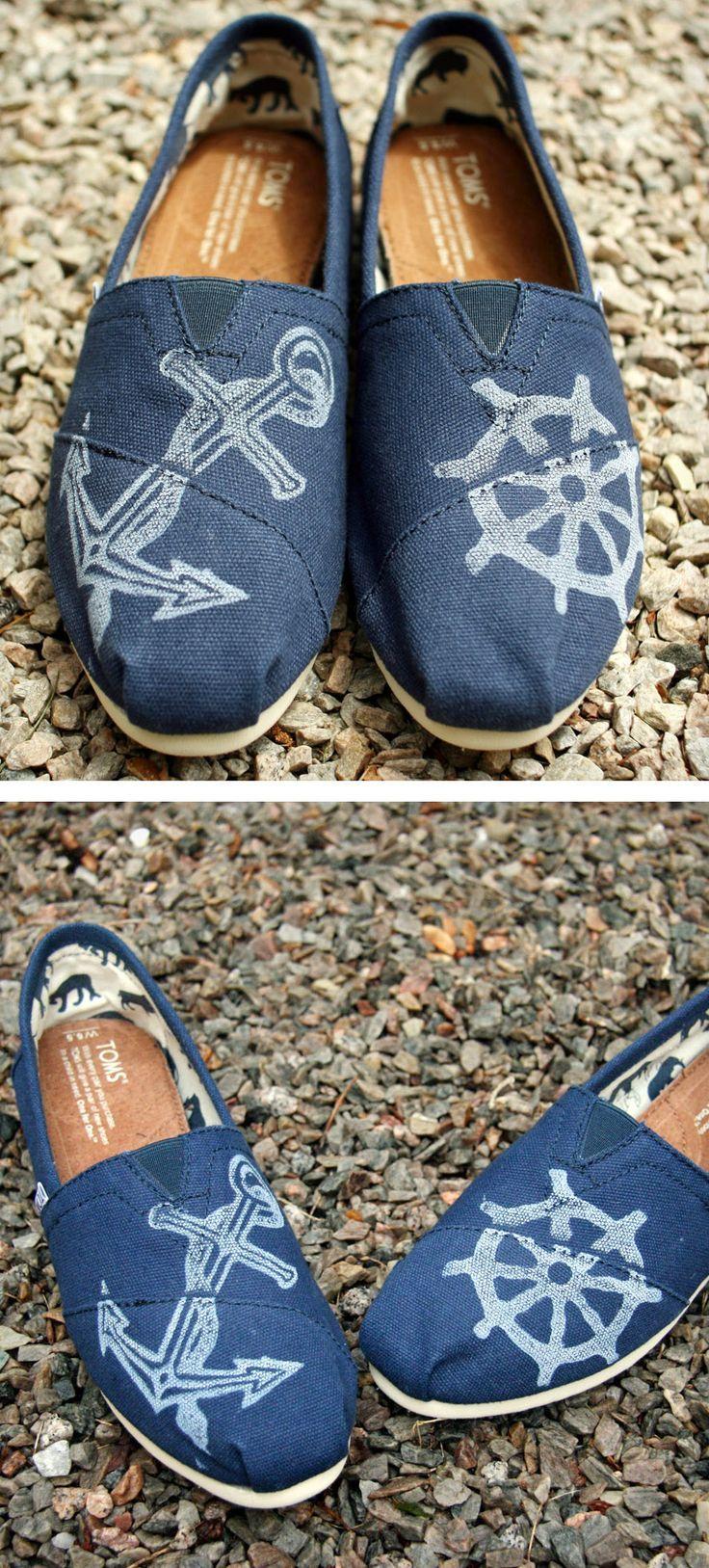 Nautical toms shoes pinterest