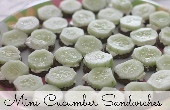 Shrimp, Brie And Cucumber Sandwiches Recipes — Dishmaps