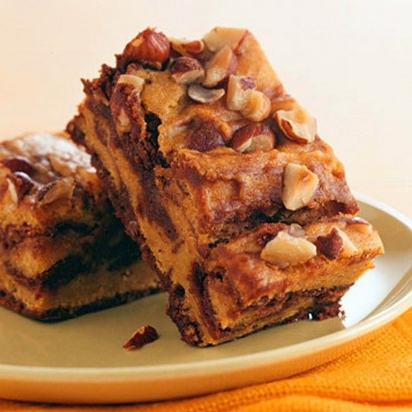 Pumpkin-Swirl Brownies | Food | Pinterest