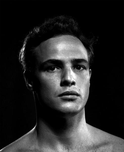 Marlon Brando, 1940s.