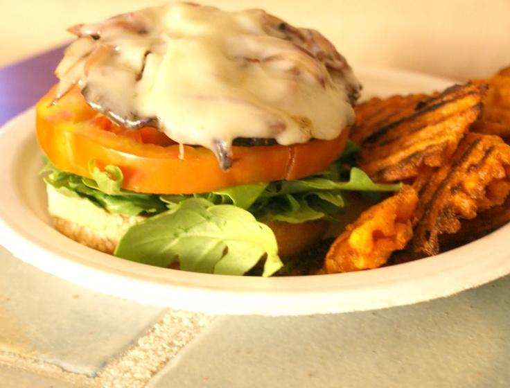 Portabella mushroom burger | Food | Pinterest