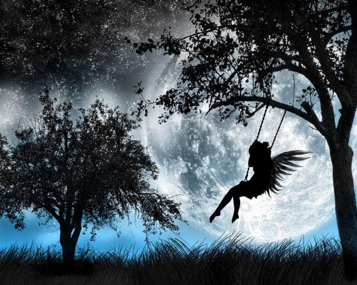 Angel Swing (free desktop wallpaper)