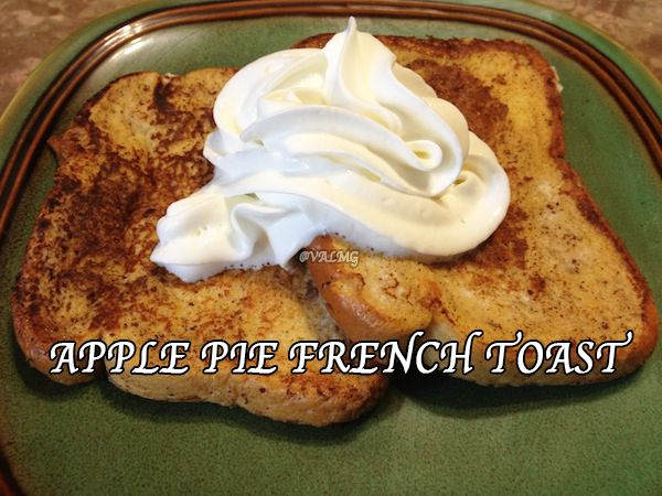 Apple Pie French Toast #Recipe | Foodgasmics - Mornin' Edition | Pint ...
