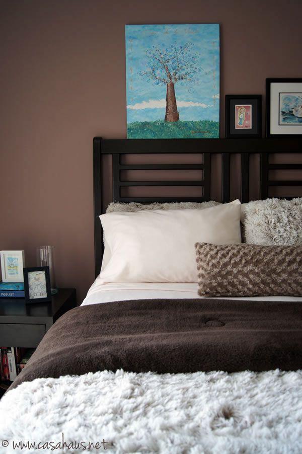 Cozy Winter Bedroom In Brown And Aqua Nest Pinterest