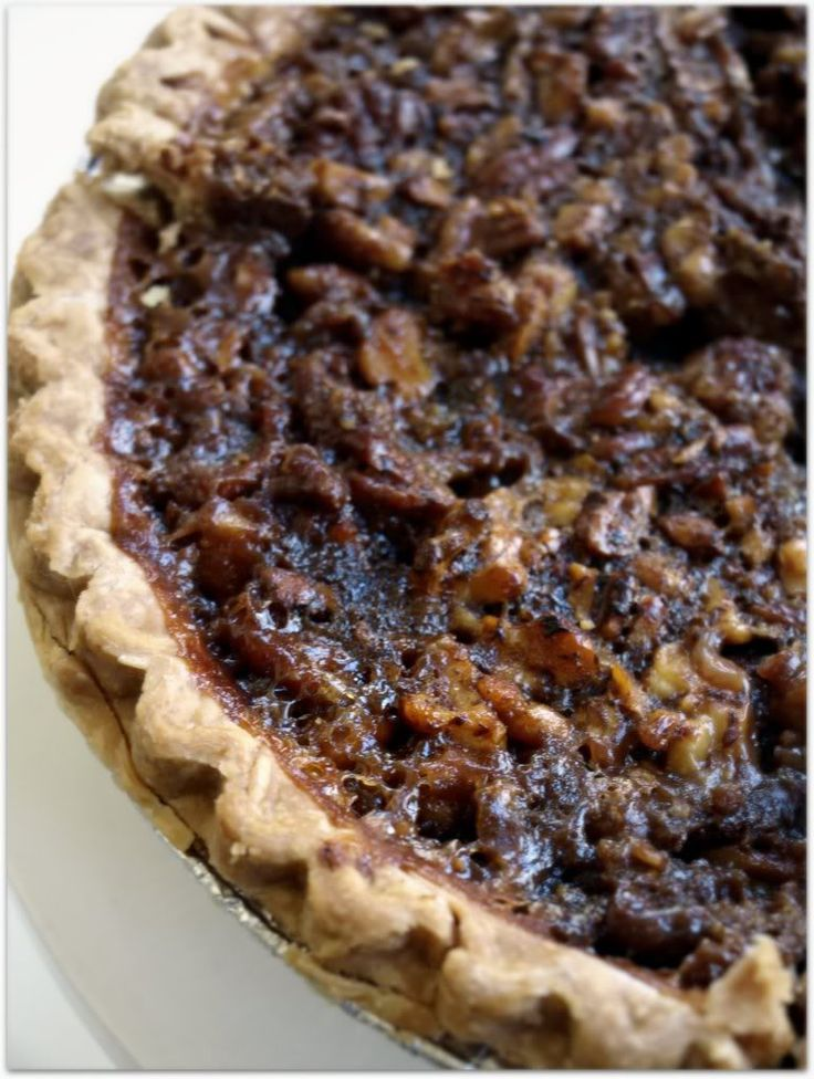 coffee-toffee pecan pie (everything pie) | pie | Pinterest